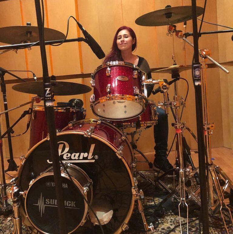 Jenny Bombo en Oz Recording Studio
