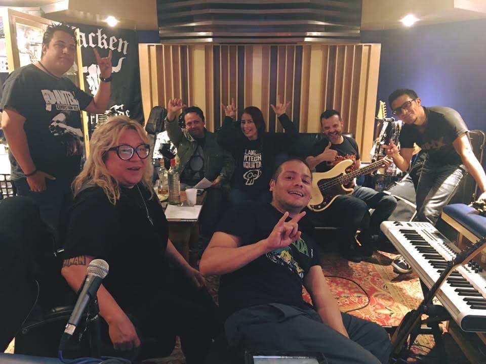 Charlie Monttana en Oz Recording Studio