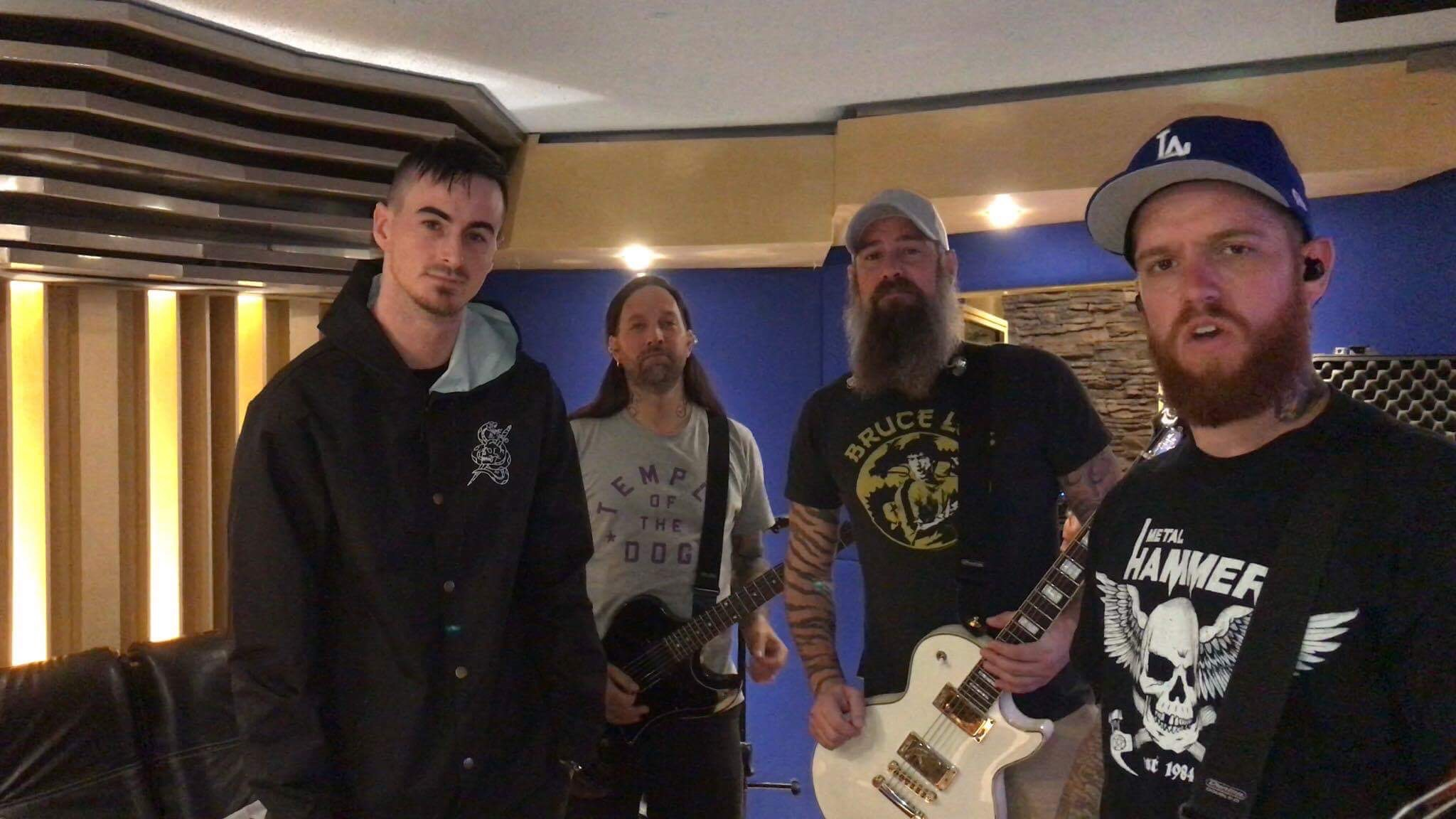 In Flames en Oz Recording Studio