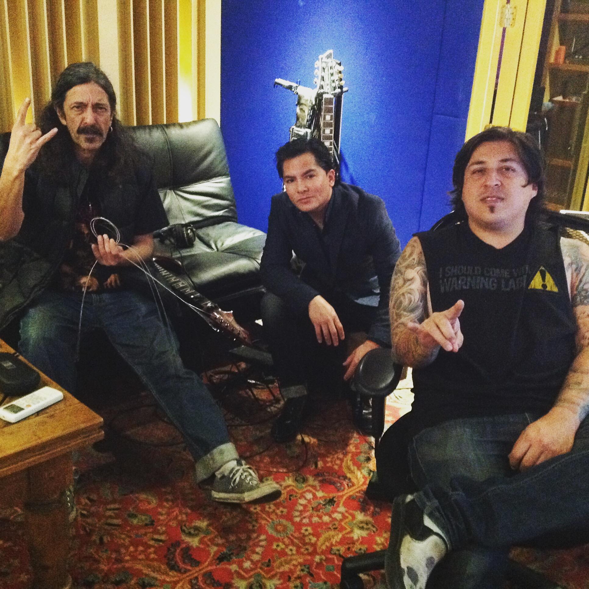 Luzbel en Oz Recording Studio