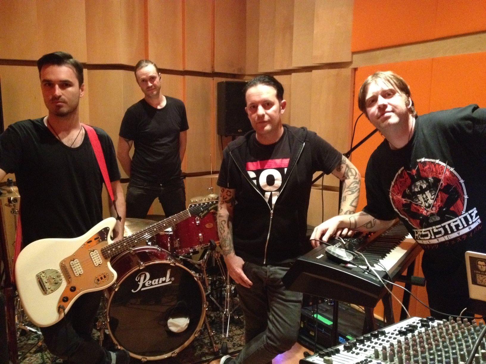 Apoptygma Berzerk en Oz Recording Studio